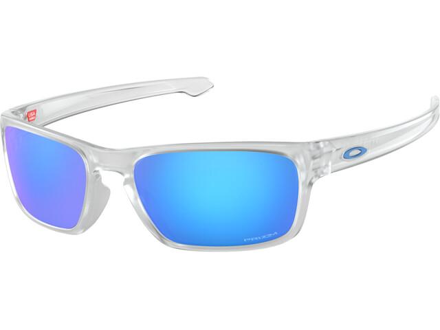 Oakley Sliver Stealth Okulary rowerowe przezroczysty